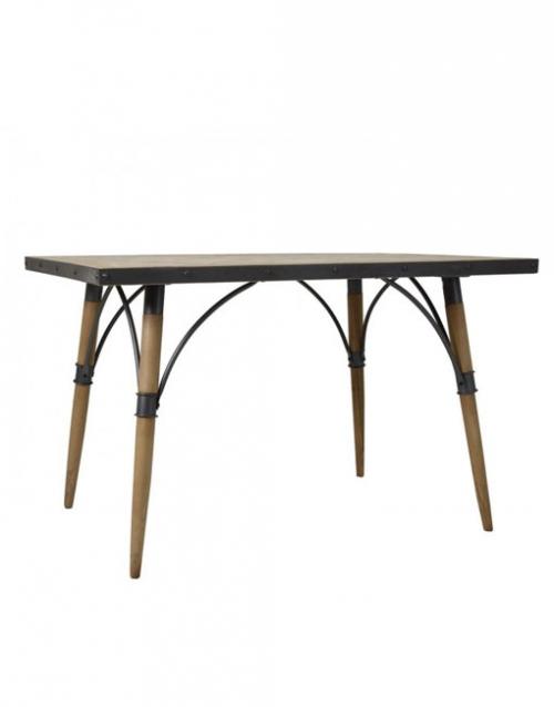 Mesa vintage de madera Linz. Productos de diseño y decoración, accesorios para el hogar, muebles de comedor y salón en la tienda de Designers in-home