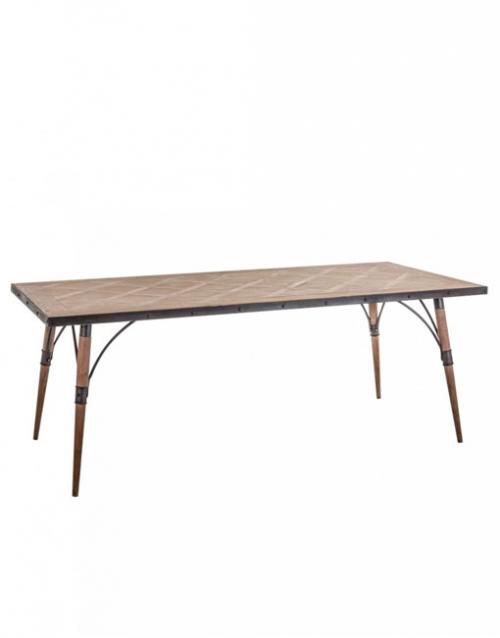 Mesa madera de abeto Linz. Productos de diseño y decoración, accesorios para el hogar, muebles de comedor y salón en la tienda de Designers in-home