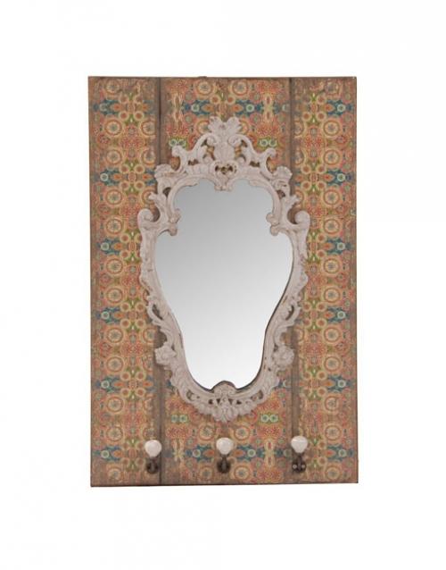 El espejo recibidor colonial es una pieza de líneas suaves y elegantes, perfecto para potenciar la luminosidad de tus interiores. Comprar en DIHWEB La tienda de muebles online