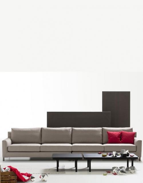 Sofa grande Domo. Mobiliario y productos de diseño y accesorios para el hogar, muebles de comedor y salón en la tienda de Designers in-home