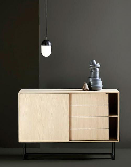 Muebles aparadores de madera Virka. Productos de diseño y decoración, accesorios para el hogar, muebles de comedor y salón en la tienda de Designers in-home