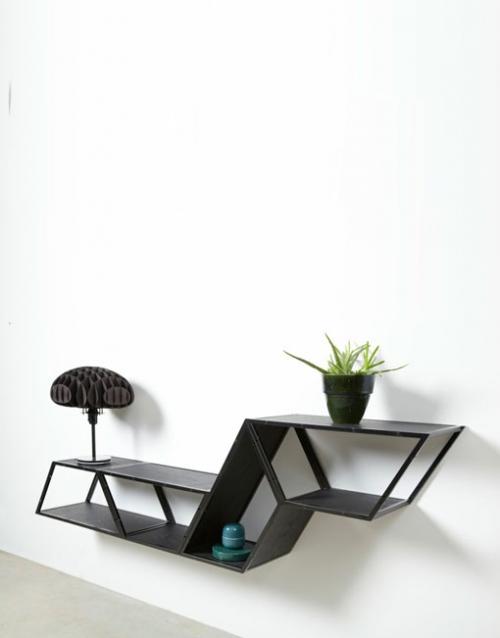 Estanterias modernas Bridge de Gejst. Construye tu estantería con este módulo singular de estilo nórdico. Versatilidad y elegancia para decorar DIHWEB La tienda de muebles online