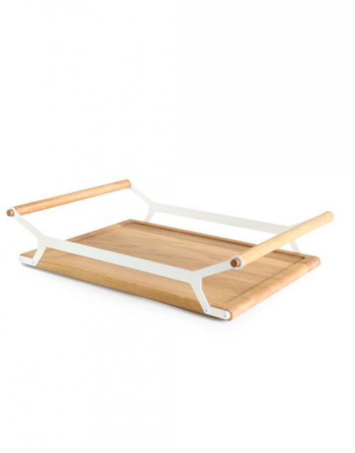Bandeja de servicio de madera   DIH La tienda de muebles online