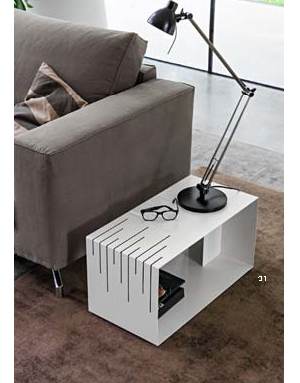 Mesita rectangular METAL.DIH | Tienda de decoración online. Productos de diseño y decoración, accesorios para el hogar, muebles de comedor y salón