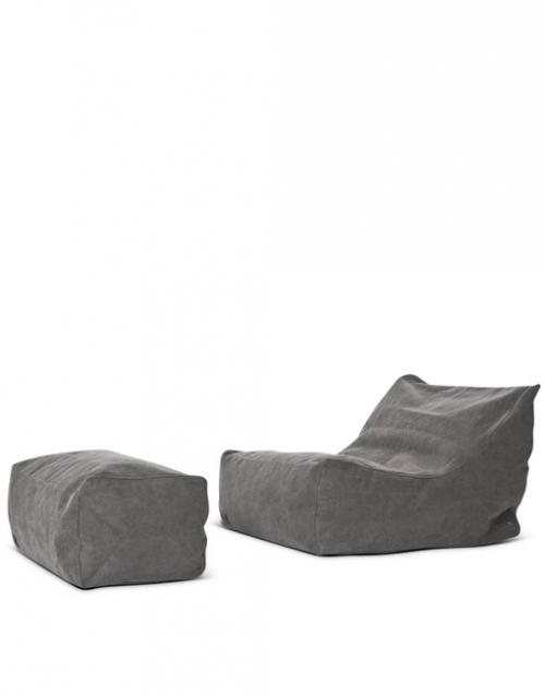 Sofa lounge gris CLUB, Designers in-home. Productos de diseño y decoración, accesorios para el hogar, muebles de comedor y salón