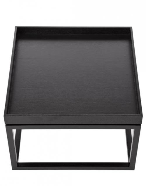Mesa auxiliar con bandeja de madera de fresno. Designers in-home. Muebles y accesorios de cocina. Productos de diseño y decoración, accesorios para el hogar
