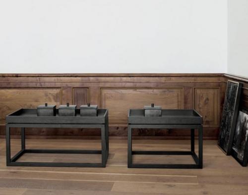 Mesa con bandeja grande de madera de fresno. Designers in-home. Muebles y accesorios de cocina. Productos de diseño y decoración, accesorios para el hogar