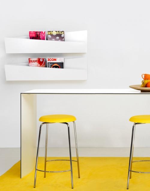revistero nordico COLLAR KA&S DIHWEB Tienda de decoración online. Productos de diseño y decoración, accesorios para el hogar, muebles de comedor y salón