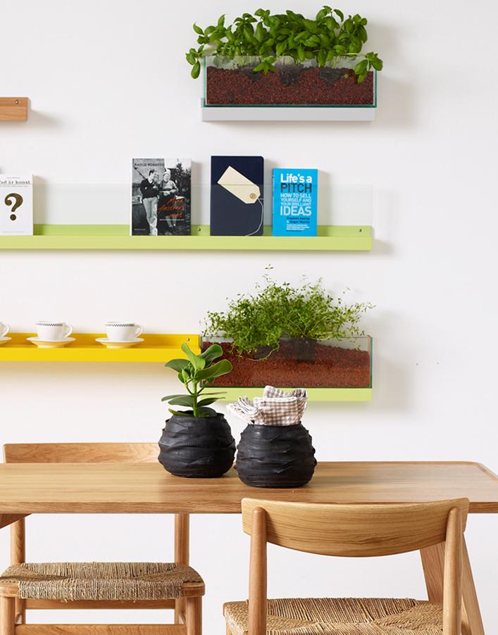 macetero de vidrio FRONT KA&S DIHWEB Tienda de decoración online. Productos de diseño y decoración, accesorios para el hogar, muebles de comedor y salón