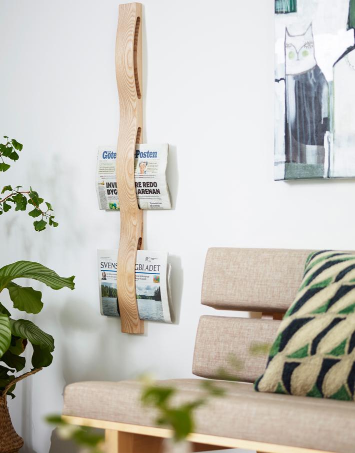 Revistero madera SVALL 99V KA&S DIH | Tienda de decoración online. Productos de diseño y decoración, accesorios para el hogar, muebles de comedor y salón