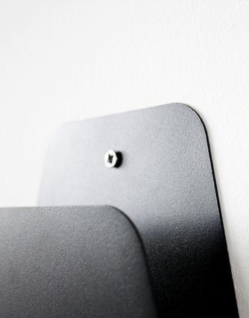 Revistero metalico de pared dihweb la tienda de muebles - Revisteros de pared ...