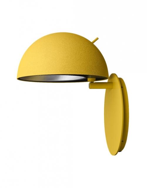 Apliques de pared amarillos Radon. Designers in-home. Muebles de diseño y decoración, accesorios para el hogar. Encuentra estilo en tu tienda de decoración