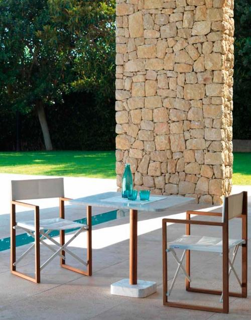 Silla de director Bridge. Designers in-home. Muebles de diseño y decoración, accesorios para el hogar. Encuentra estilo en tu tienda de decoración