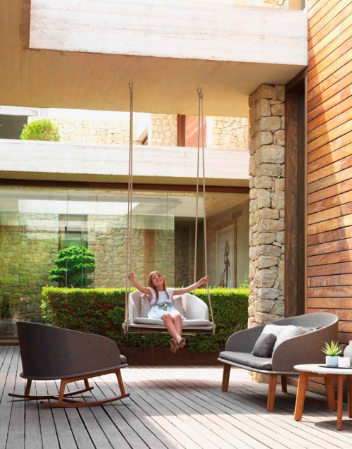 Columpio Cleo. Designers in-home. Muebles de diseño y decoración, accesorios para el hogar. Encuentra estilo en tu tienda de decoración