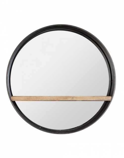 El espejo moderno de metal Cardiff es una pieza de líneas suaves y elegantes, perfecta para potenciar la luminosidad de tus interiores. Comprar en DIHWEB La tienda de muebles online