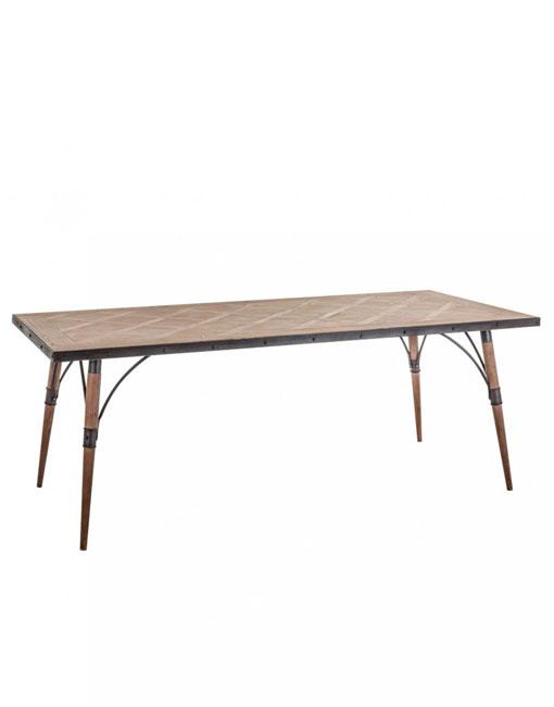Mesa madera de abeto linz dihweb la tienda de muebles online for Catalogo de muebles de madera para el hogar pdf