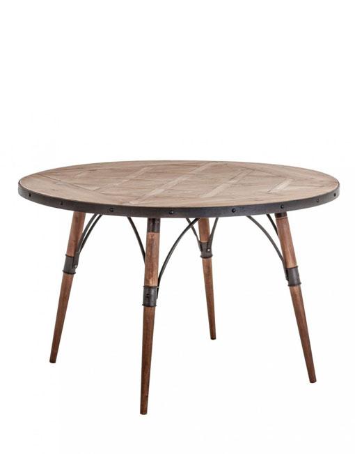 Mesa comedor redonda. DIHWEB La tienda de muebles online
