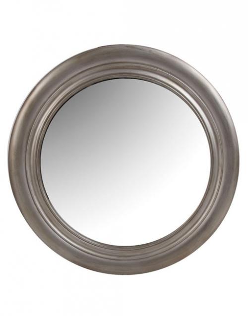 Los espejos plateados redondos Nimes son una pieza de líneas suaves y elegantes, perfecta para potenciar la luminosidad de tus interiores. Comprar en DIHWEB La tienda de muebles online