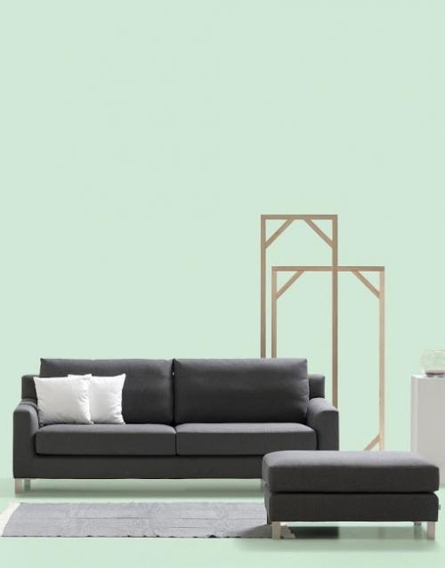 Sofas pequeños Domo. Mobiliario y productos de diseño y accesorios para el hogar, muebles de comedor y salón en la tienda de Designers in-home