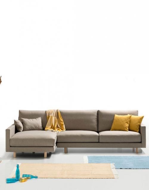 Sofa esquinero chaise longue. Mobiliario y productos de diseño y accesorios para el hogar, muebles de comedor y salón en la tienda de Designers in-home