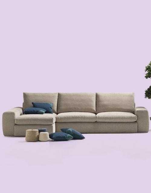 Sofas grandes Nuvola. Mobiliario y productos de diseño y accesorios para el hogar, muebles de comedor y salón en la tienda de Designers in-home
