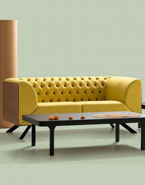 Sofa chester moderno Ikon. Mobiliario y productos de diseño y accesorios para el hogar, muebles de comedor y salón en la tienda de Designers in-home