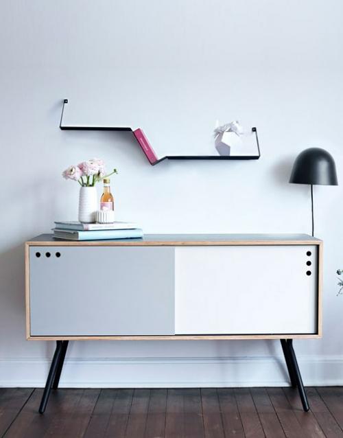 Aparador vintage de madera Geyma. Productos de diseño y decoración, accesorios para el hogar, muebles de comedor y salón en la tienda de Designers in-home