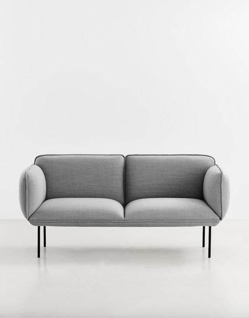 Sofas grises estilo n rdico dihweb la tienda de muebles for Muebles nordicos online