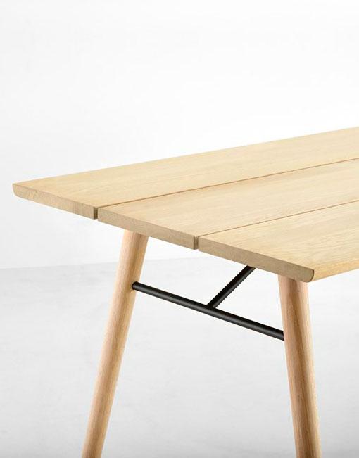 Mesas comedor de madera dihweb la tienda de muebles online - Mesas comedor madera natural ...
