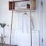 Perchero nordico de madera de roble | DIH La tienda de muebles online