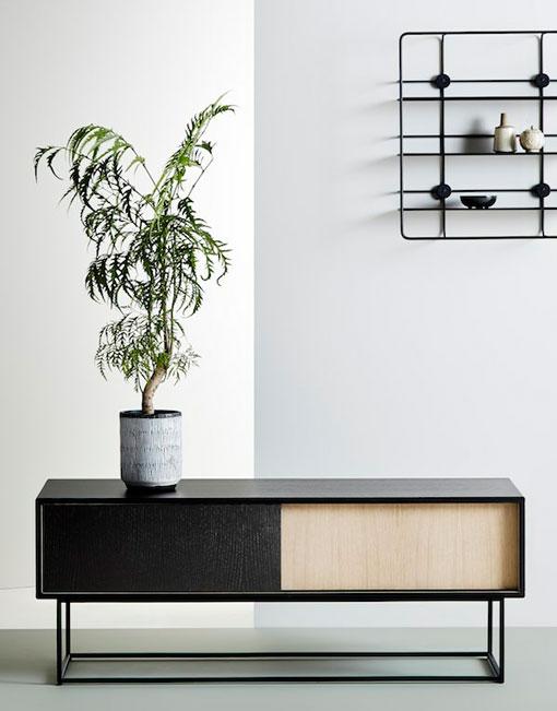 Aparador nordico de madera dihweb la tienda de muebles online for Muebles nordicos online
