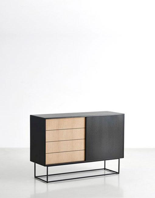 Mueble aparador de madera dihweb la tienda de muebles online - Mueble aparador para comedor ...