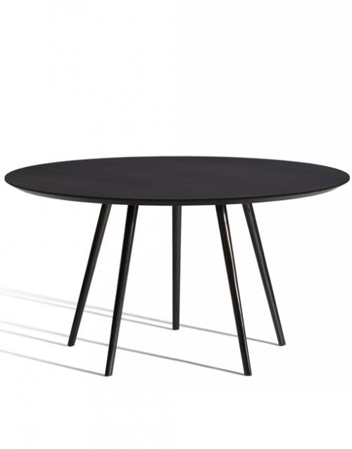 Mesas de comedor negras Gazelle de Capdell. Muebles de oficina y del hogar, diseño y decoración en la tienda de muebles de Designers in-home