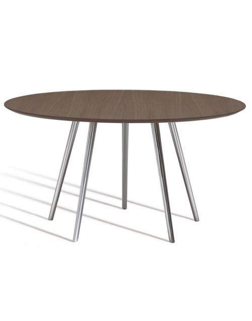Mesas redondas de comedor Gazelle de Capdell. Muebles de oficina y del hogar, diseño y decoración en la tienda de muebles de Designers in-home