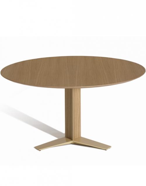 Mesas de reunión redondas Tri Star de Capdell. Muebles de oficina y del hogar, diseño y decoración en la tienda de muebles de Designers in-home