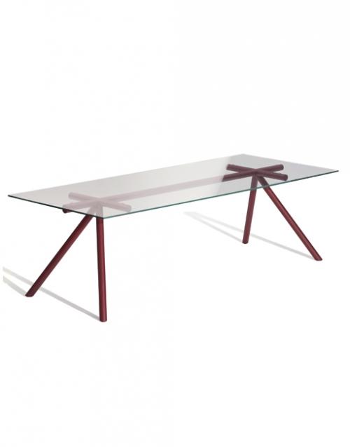 Mesa de cristal rectangular | DIH La tienda de muebles online