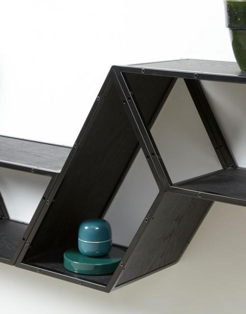 Sistema de estanterias modulares de Gejst. Construye tu estantería con este módulo singular de estilo nórdico. Versatilidad, elegancia y diseño interior. DIHWEB.COM La tienda de muebles online