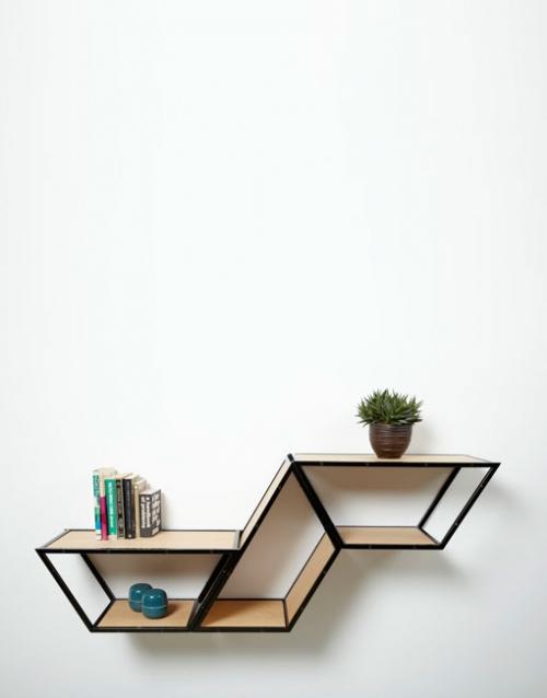 Estanteria modular madera BRIDGE 3 roble. DIHWEB.COM | Tienda de decoración online. Productos de diseño y decoración, accesorios para el hogar, muebles de comedor, salón, dormitorio y mobiliario de exterior