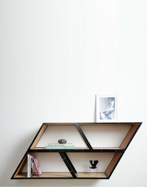 Estanterias salon Bridge roble de Gejst. Construye tu estantería con este módulo singular de estilo nórdico. Versatilidad y elegancia para decorar. DIHWEB La tienda de muebles online