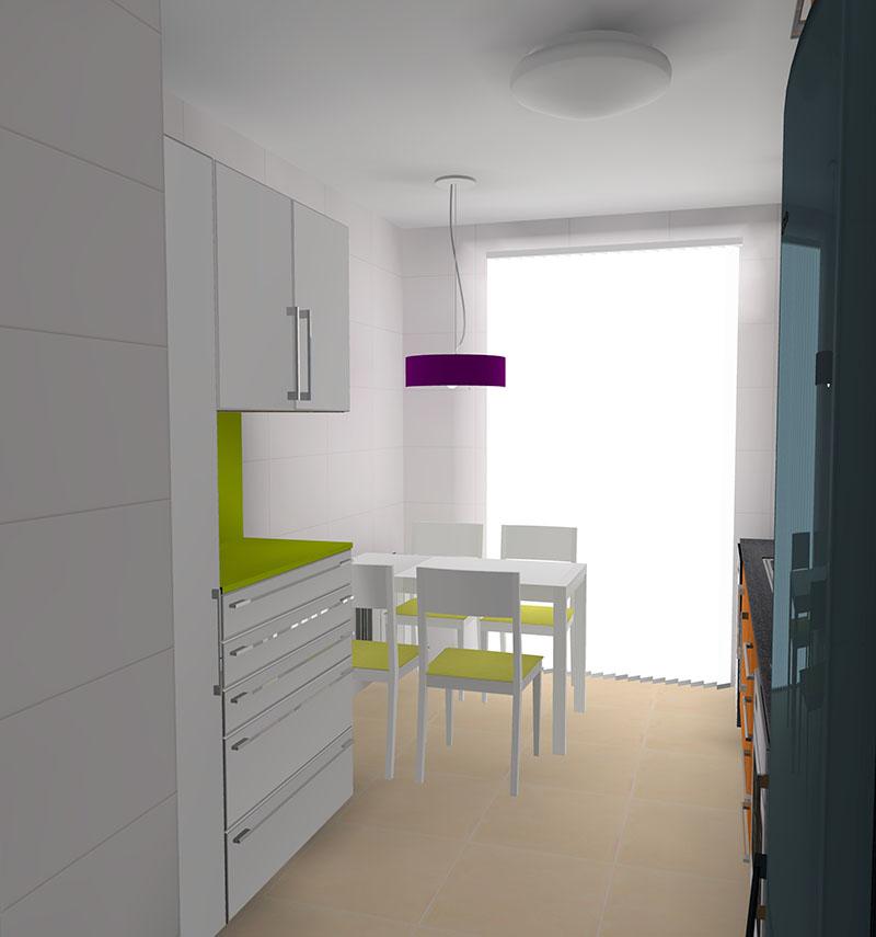 Orden en la cocina proyecto designers in-home decorador de interiores y diseño low cost DIHWEB.COM Proyecto diseño interior online por 99€ por espacio.