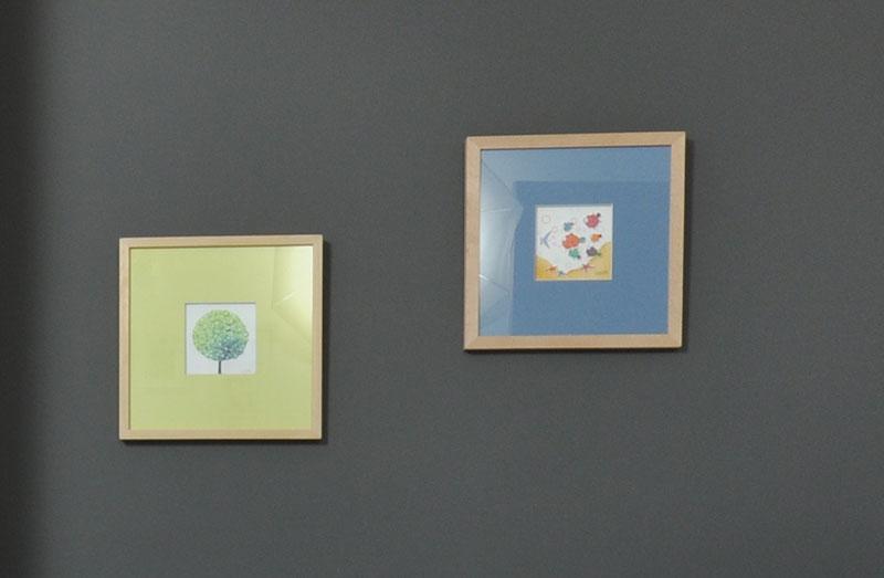 Cuadros en Habitación infantil proyecto designers in-home decorador de interiores y diseño low cost DIHWEB.COM Proyecto diseño interior online por 99€