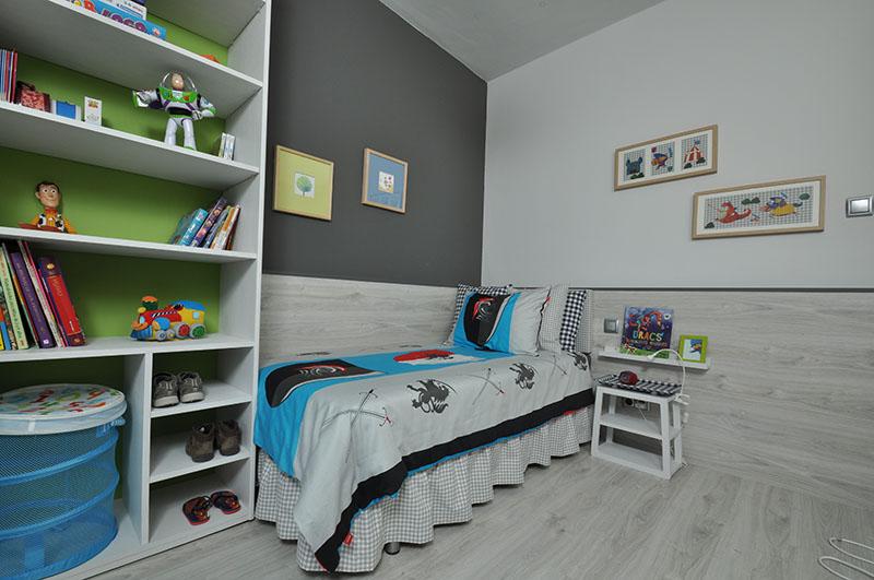 Habitaci n infantil dih dise o interior online for Plano habitacion online
