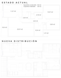 Reforma en Pardinyes proyecto designers in-home decorador de interiores y diseño low cost DIHWEB.COM Proyecto diseño interior online por 99€ por espacio.