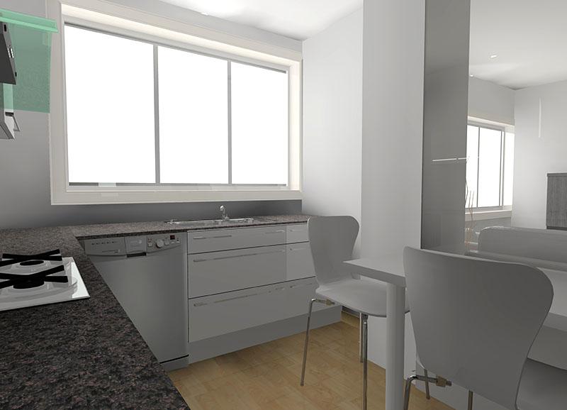 Reforma de cocina. Proyecto diseño interior online por 99€ por espacio. Decoración low cost. El primer servicio de interiorismo al alcance de todos. DIHWEB decorador de interiores