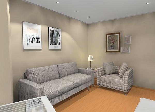 Salon pequeño familia Designres in-Home Proyectos es un salon comedor pequeño para una familia de dos niños.Distribución, acabados muebles y color