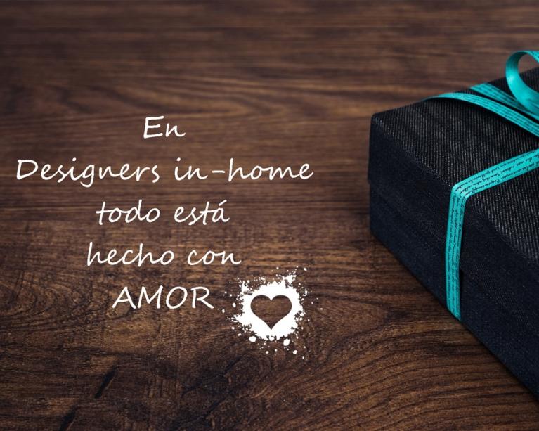 Amar tu hogar Post mes Febreo Blog Designers in-home , encontramos en nuestro hogar un lugar incomparable en el mundo, como nuestro hogar, ninguno.