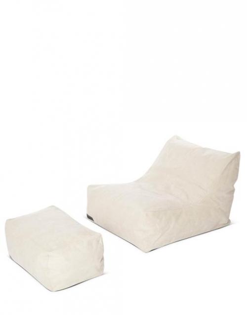 Sofa chill out blanco CLUB, Designers in-home. Productos de diseño y decoración, accesorios para el hogar, muebles de comedor y salón