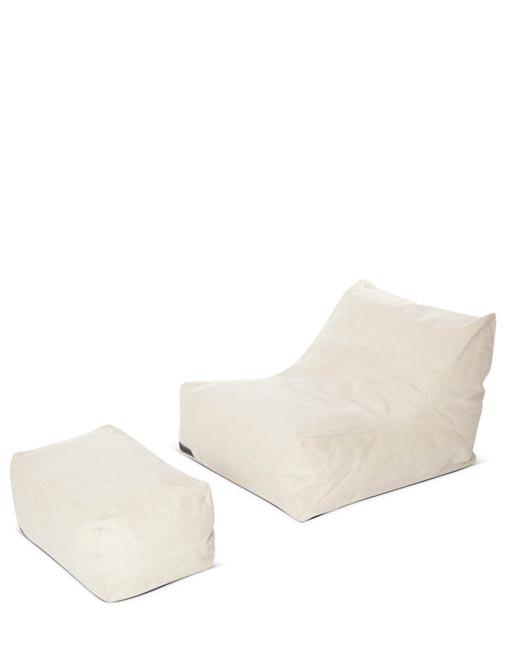 Sofa chill out blanco Club DIHWEB La Tienda de muebles online