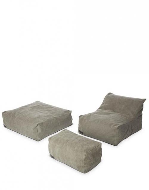 Conjunto chill out caqui CLUB, Designers in-home. Productos de diseño y decoración, accesorios para el hogar, muebles de comedor y salón