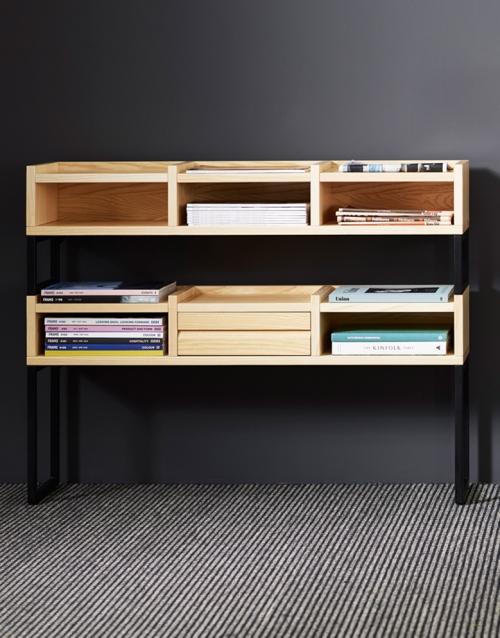 libreria de madera 1KM KA&S DIHWEB Tienda de decoración online. Productos de diseño y decoración, accesorios para el hogar, muebles de comedor y salón